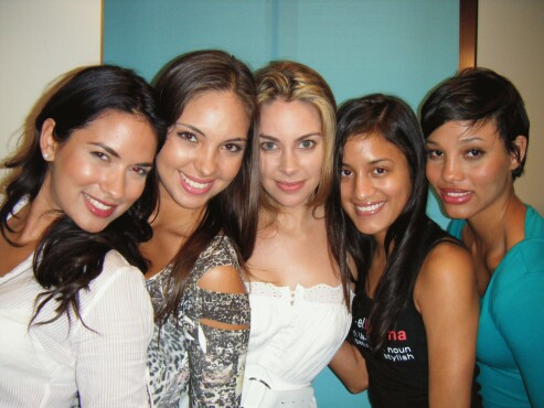 Model Latina Hopefuls at casting