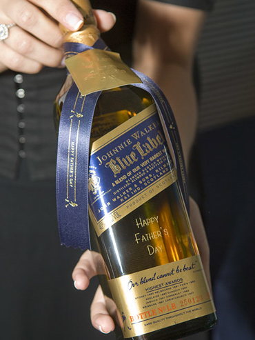 Johnnie Walker Blue Label Fathers Day Celebration