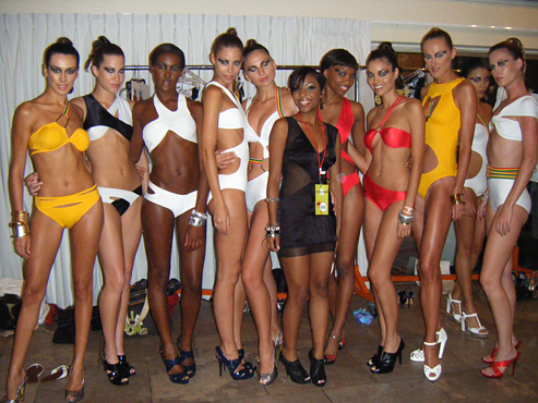 Keva Johnson Debut @ Funksion Fashion Week, Miami Beach Florida