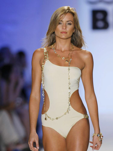 Mirla Sabino returns to Mercedes Benz Fashion Week Miami Swim 2009
