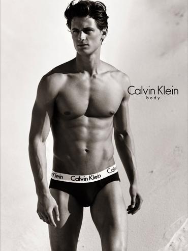 Calvin Klein Model Garrett Neff
