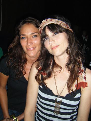 Lana with Angie Mattson