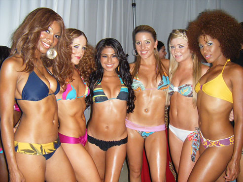 Models, Lcesia, Megan, Alesandra, Adriana, Kelsea and Maggie